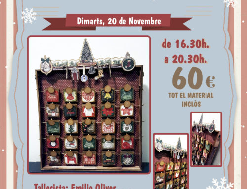 Taller Scrapbook Calendari d'Advent a Singulars